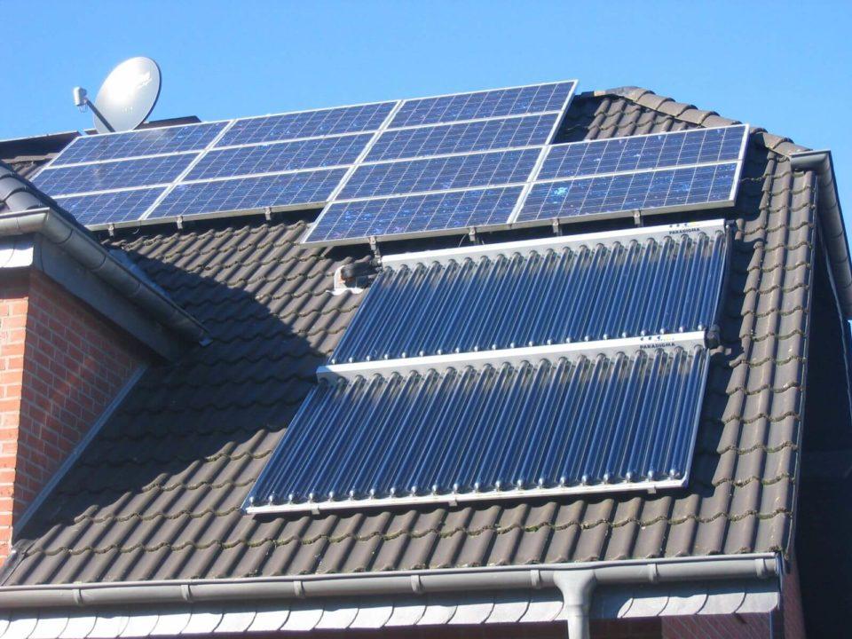 Eigene PV und Solaranlage